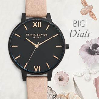 Olivia Burton Big Dial Watches At Argento