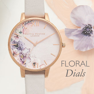 Olivia Floral Watches At Argento