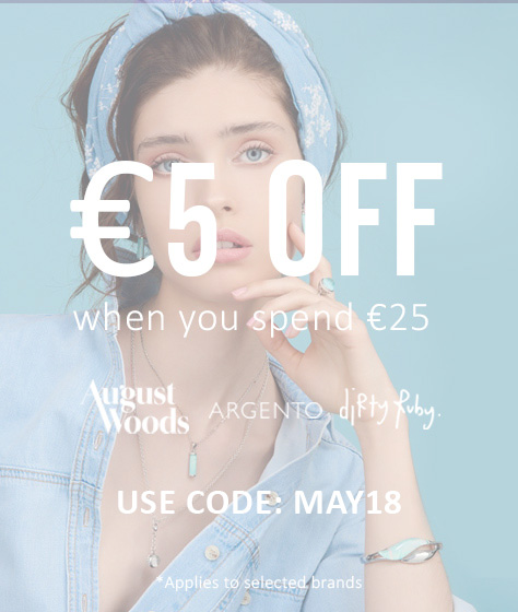 €5 OFF WHEN YOU SPEND €25 ON SELECTED BRANDS