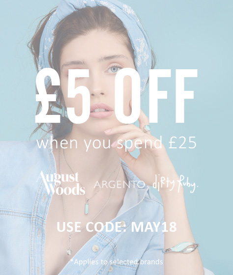 £5 OFF WHEN YOU SPEND £25 ON SELECTED BRANDS