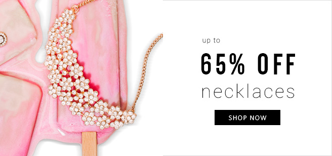 65% OFF Necklaces