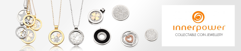 Innerpower collectable coin jewellery