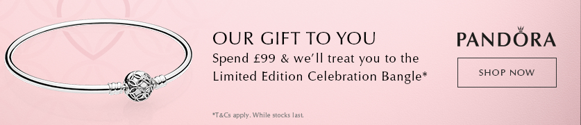 Pandora Free Gift with £99 Spend
