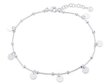 Argento Coin Anklet