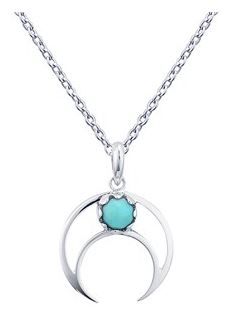 Argento Crescent Moon Necklace Layer