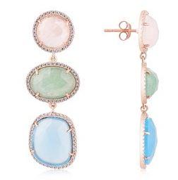 Argento Multicolour Earrings Summer