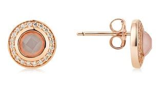 Argento Rose Gold Blush Earrings