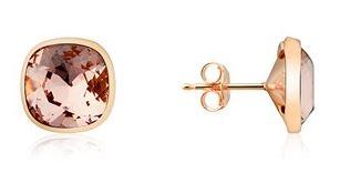 Argento Rose Gold Swarovski Earrings