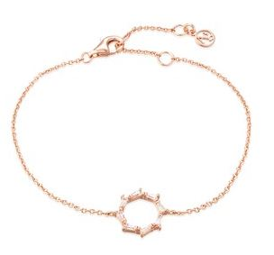 Argento Rose Gold Stellar Circle Bracelet Layered