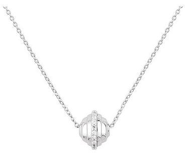 Argento Silver Orb CZ Necklace Belfast Fashion Cocktail