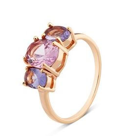 August Woods Pink CZ Ring