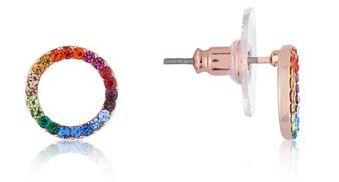 August Woods Rainbow Earrings Summer
