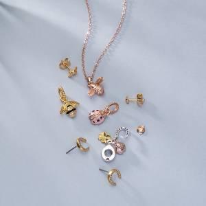 Argento Ladybird Bee Jewellery Spring