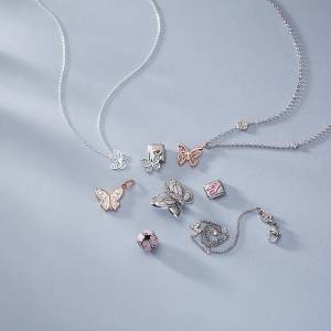 Butterfly Children's Jewellery Argento