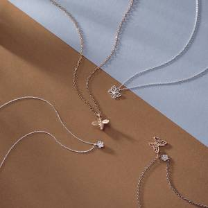 Spring Jewellery argento Bee Butterfly