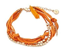 Dirty Ruby Orange Bracelet Summer