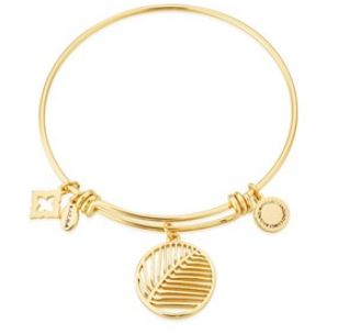 Karma Gold Palm Leaf Bangle