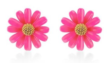 Kate Spade Hot Pink Earrings Summer