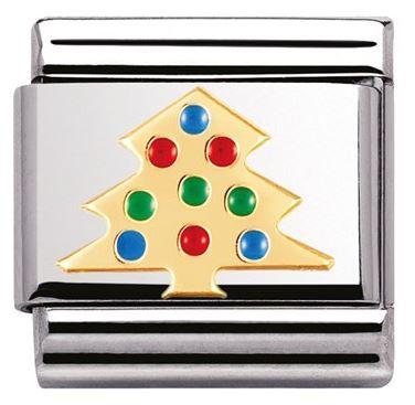 Nomination Christmas Tree Charm Argento