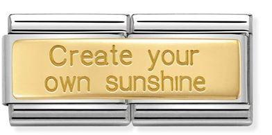 Nomination Sunshine Double Charm