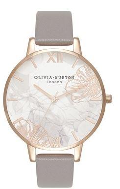 Olivia Burton Exclusive Argento Watch Mum Floral Christmas