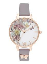 Olivia Burton Embellished Butterfly Watch