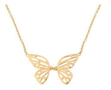 Olivia Burton Gold Butterfly Necklace