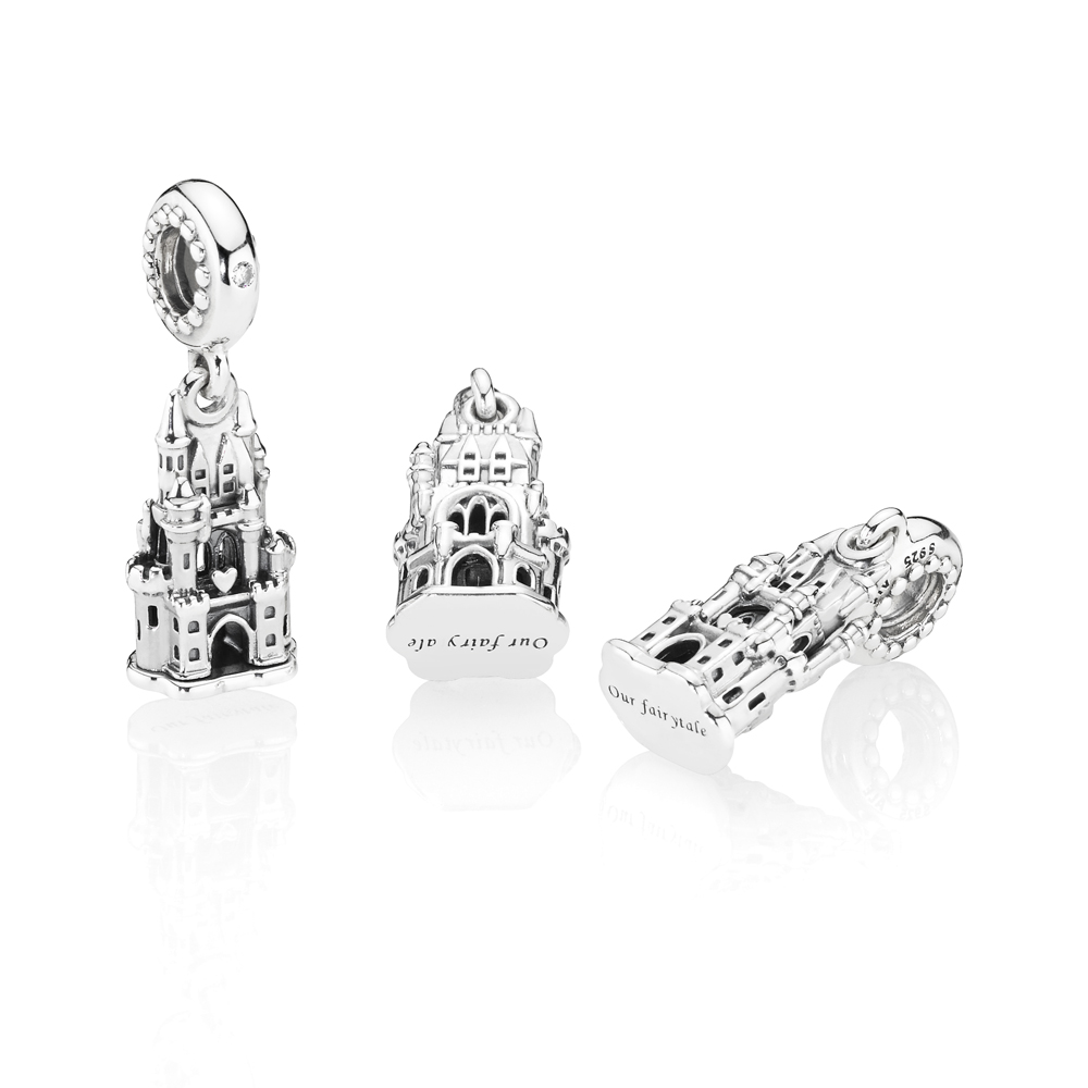 Pandora Fairytale Castle Regal Charm Argento