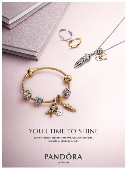 PANDORA Grains of Life Autumn 2018 Jewellery Argento