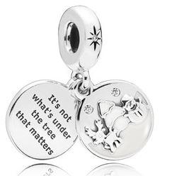 PANDORA Perfect Christmas Charm argento