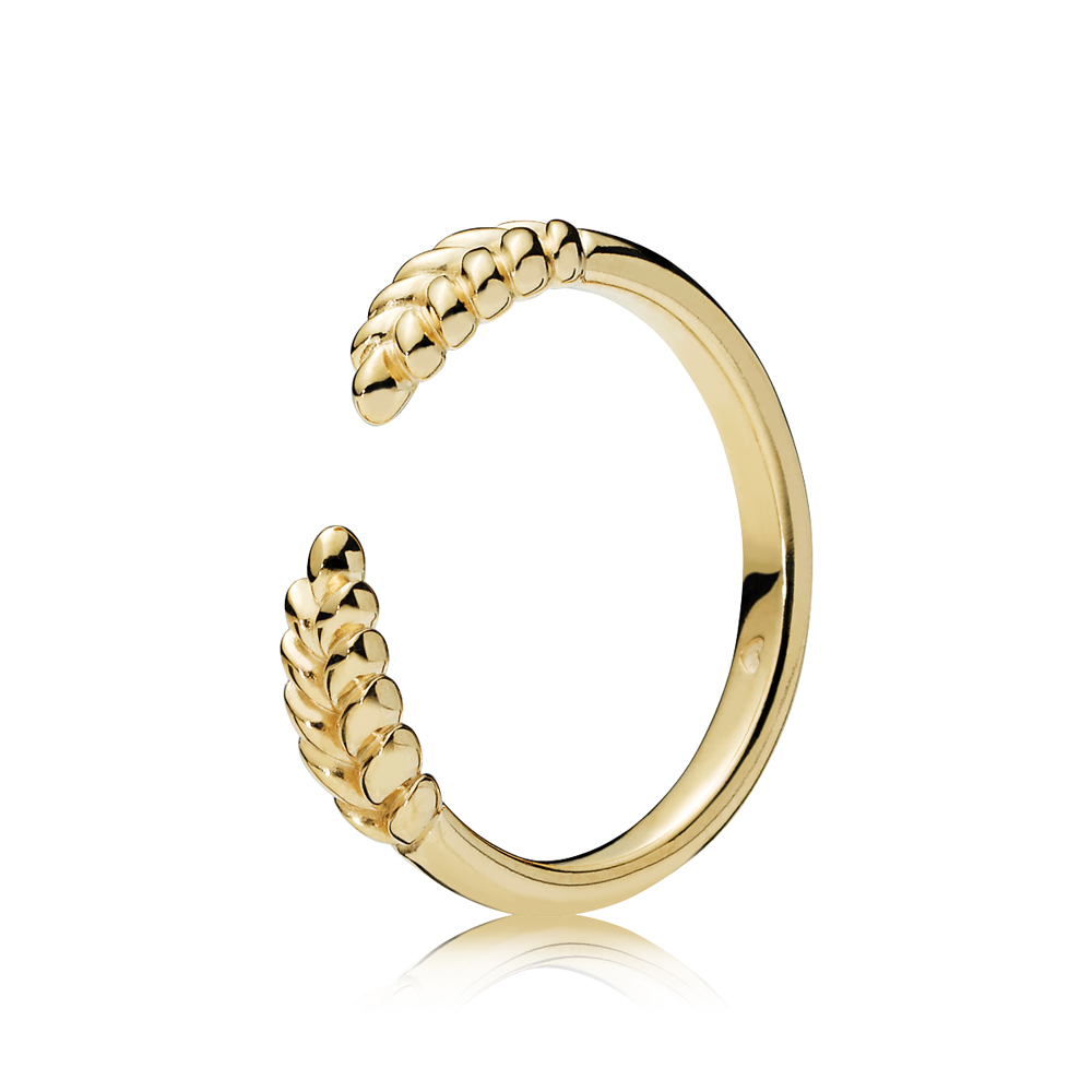 PANDORA Shine Grain Ring Argento