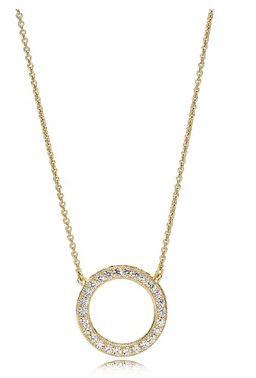 PANDORA Shine Hearts Necklace Argento Belfast Fashion Street Style