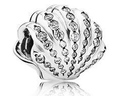 Pandora Disney Ariel Shell Mermaid Charm