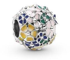 Pandora Multicolour Flower Charm
