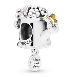 Pandora Flower Watering Can Charm