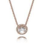 Pandora Rose Classic Elegance Necklace Argento
