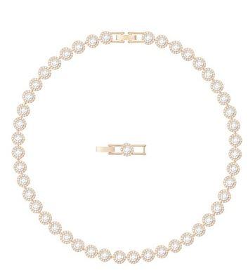 Swarovski Rose Gold Angelic All around Necklace Argento