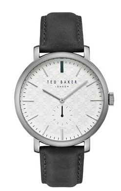 Ted Baker Trent Grey Watch Argento