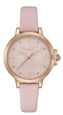 Ted Baker Pink Bow Watch Rose Gold Chrismas