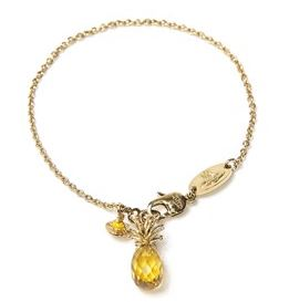 Vivienne Westwood Gold Pineapple Bracelet