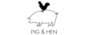 Pig and Hen Logo