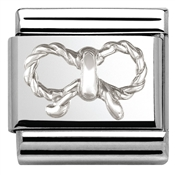 Nomination Elegance Silver Bow Charm