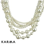 Karma Elegance Pearl Necklace