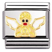 Nomination White Angel Charm
