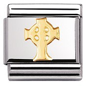 Nomination Celtic Cross Charm