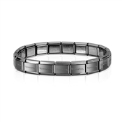 Nomination Classic Gunmetal Base Bracelet