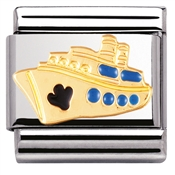 Nomination Cruise Ship Charm
