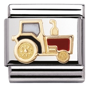 Nomination Tractor Charm