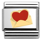Nomination Love Letter Charm