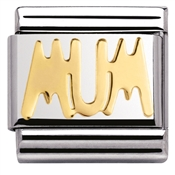 Nomination Gold Mum Charm